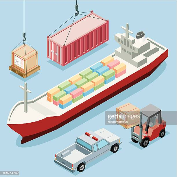 Isometric, Freight Transportation