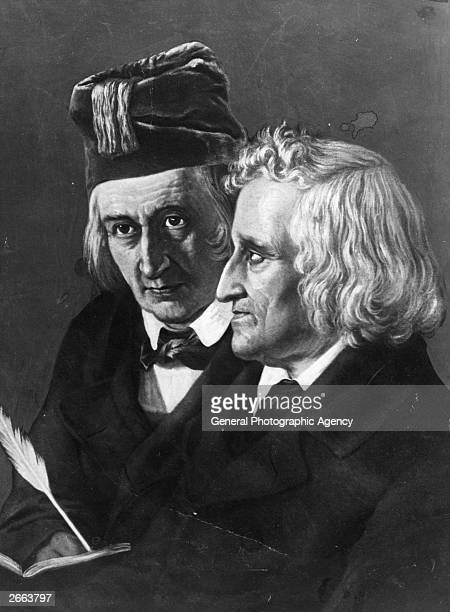 Jacob Ludwig Karl Grimm and Wilhelm Karl Grimm German philologists and folklorists Both were professors at Gottingen from 1830 to 1837 and...