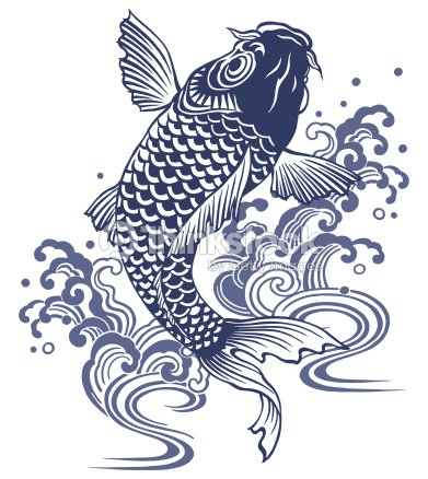 Carpe japonais illustration thinkstock for Vente de carpe koi japonaise