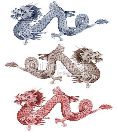 Dragon japonais illustration thinkstock - Dragon japonais ...