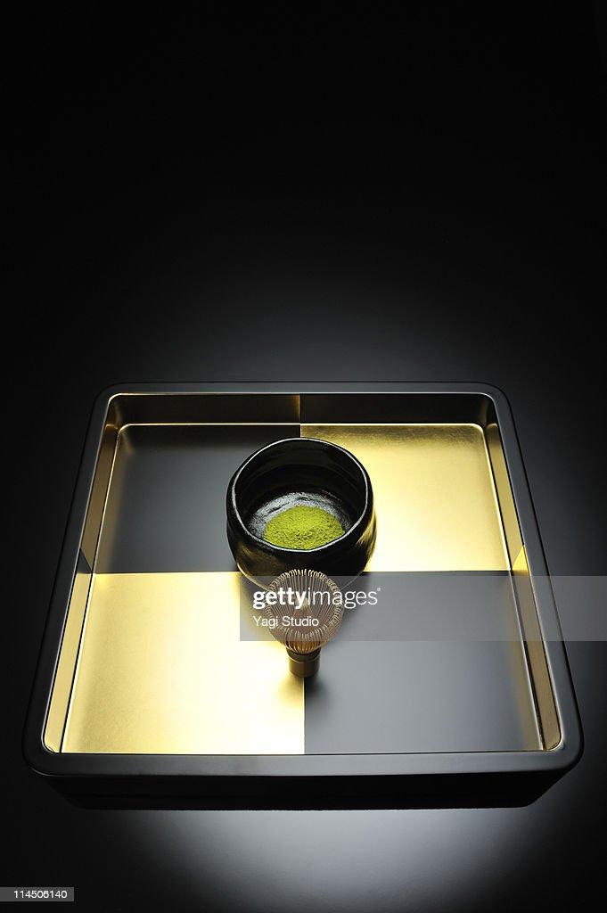 A Japanese tea ceremony : Stock Illustration