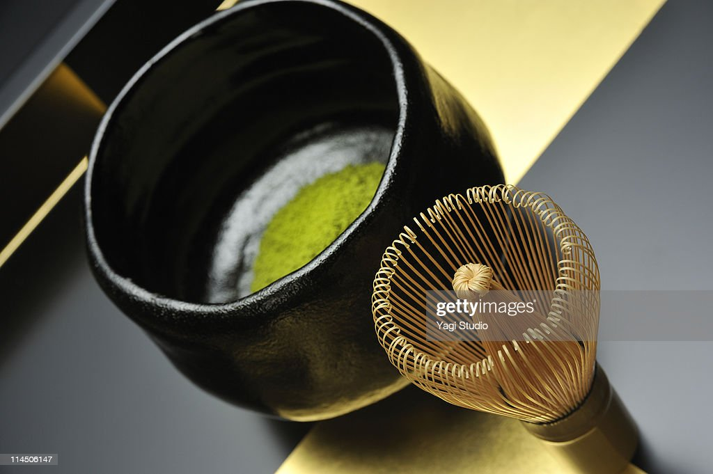 A Japanese tea ceremony : Stock Illustration