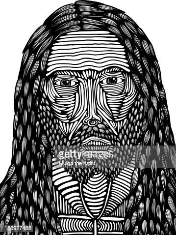Jesus : Stock Illustration