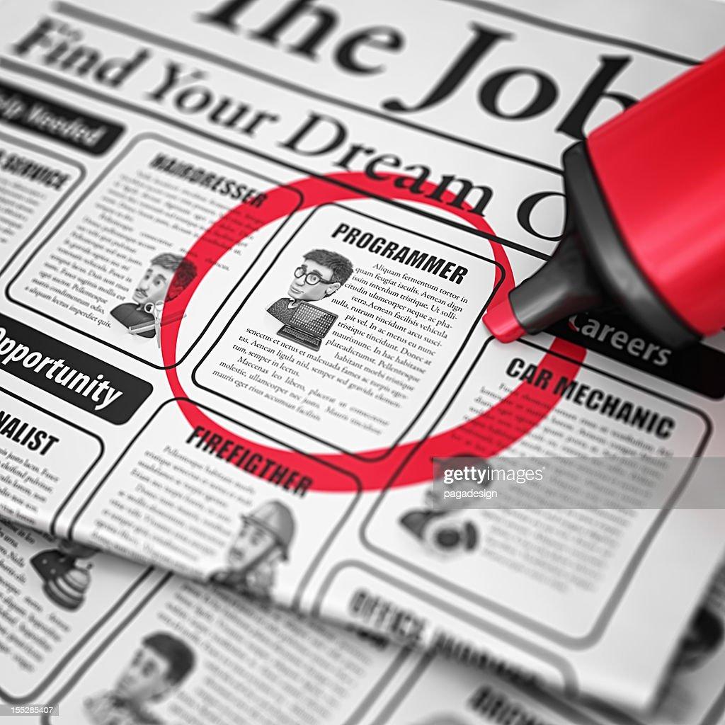 job search : Stock Illustration