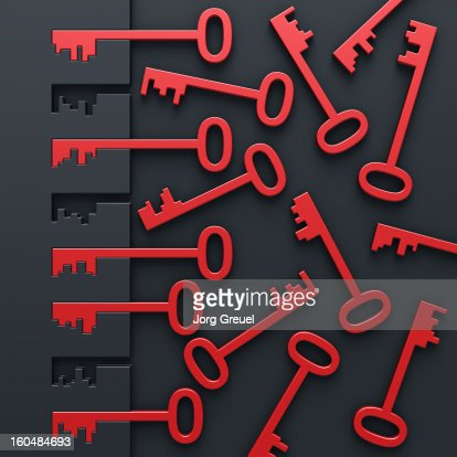 Keys : Stock Illustration