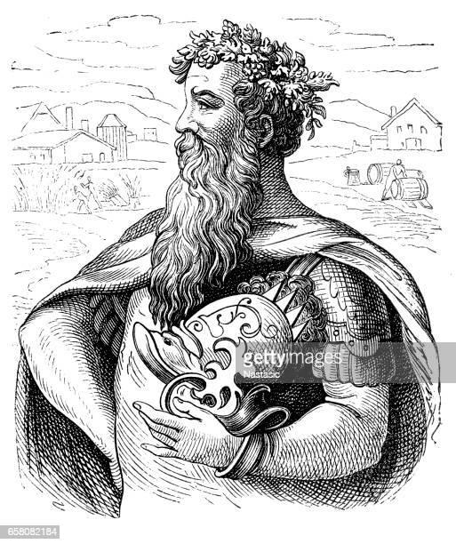 King Gambrinus ,the King of Beer