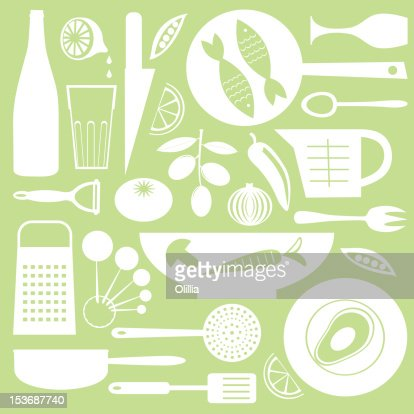 Kitchen collection : Stock Illustration
