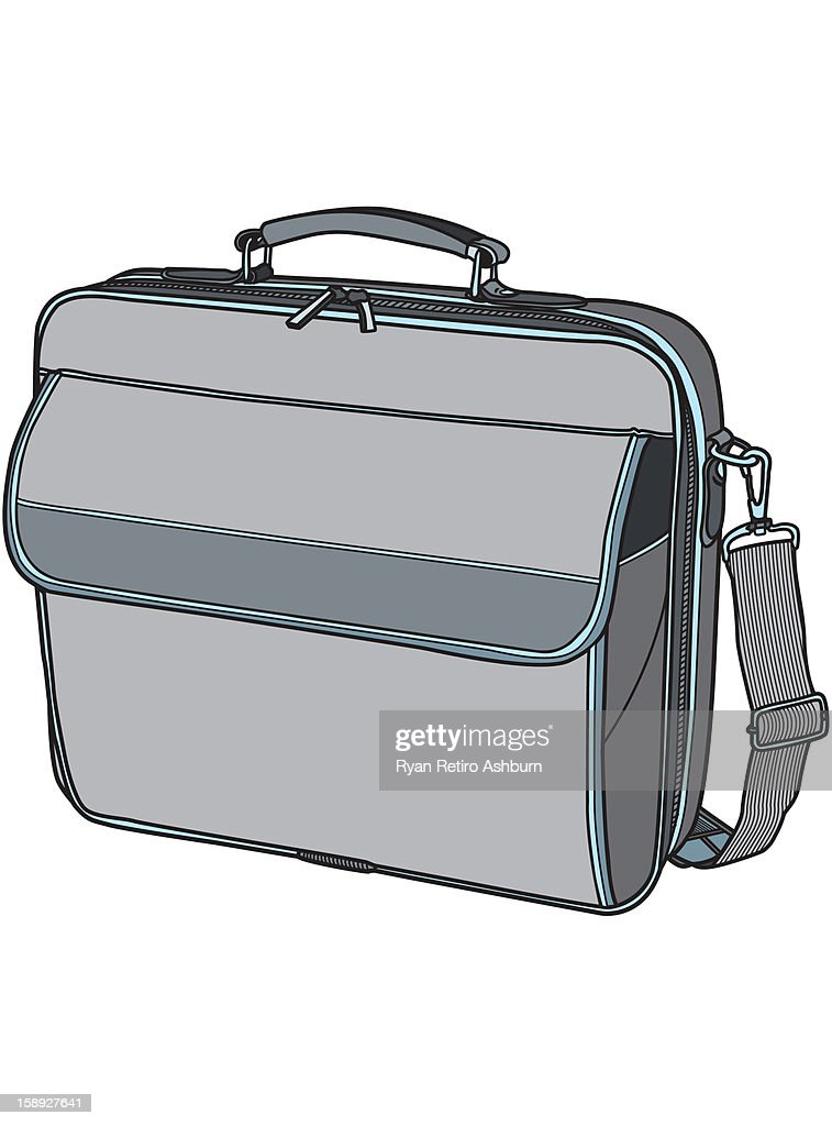 Lap top bag : Stock Illustration