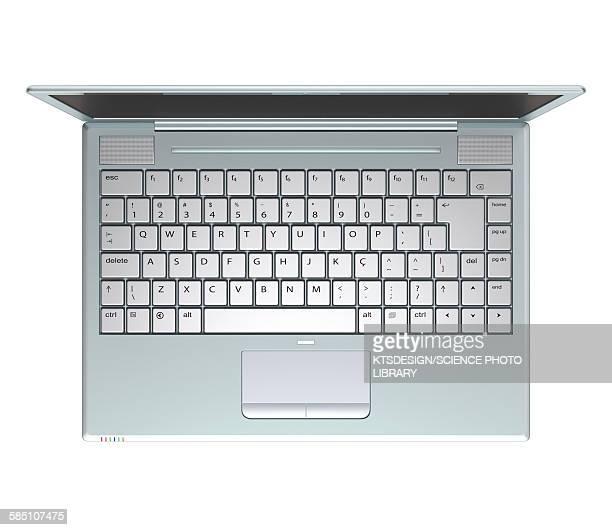 Laptop, illustration