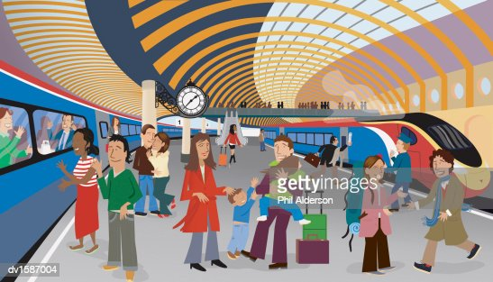 train platform clipart - photo #20