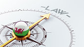 Wales High Resolution Law Concept