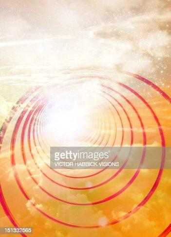 Light at the end of the tunnel, artwork : Illustrationer
