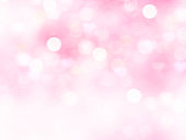 Light pink blurred background.Valentine day holiday blur wallpaper.Romantic backdrop.