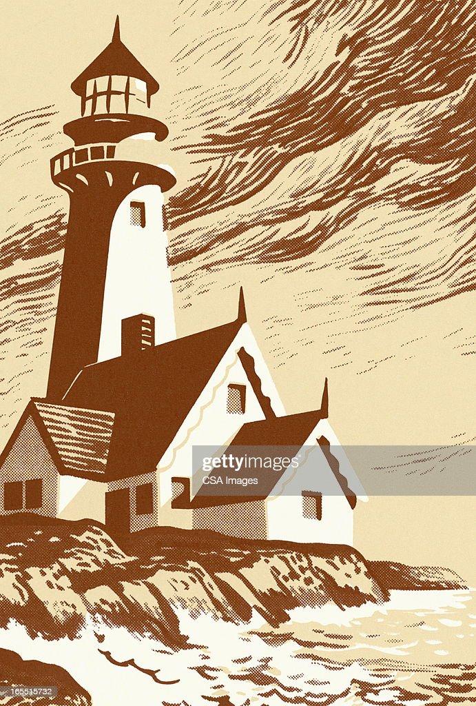 Lighthouse : Stock Illustration