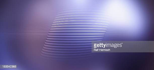 Lines against an abstract background
