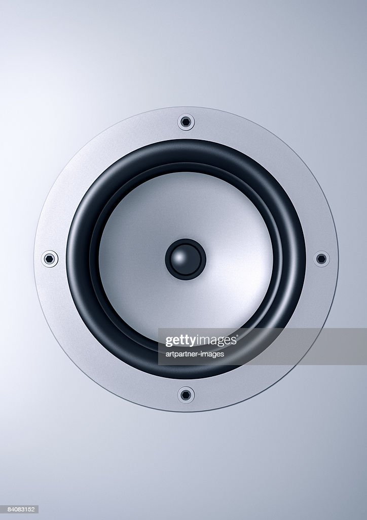 loudspeaker / speaker : Stock Illustration