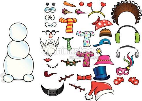 De votre petit bonhomme de neige clipart vectoriel thinkstock - Clipart bonhomme de neige ...