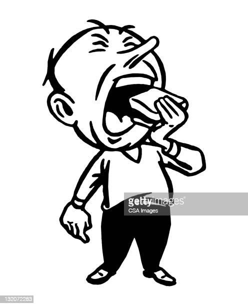 mouth open stock illustrations and cartoons