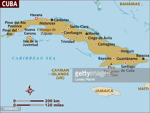 Map Of Cuba Stock Illustration Getty Images - Map of cuba