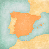 Melilla Spain Map.Melilla Stock Photos And Illustrations Royalty Free Images