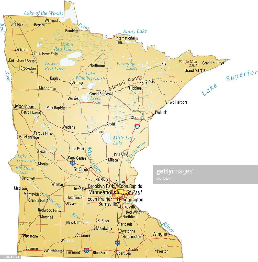 Minnesota Maps The National Map Michigan Zip Code Map - Maps of minnesota
