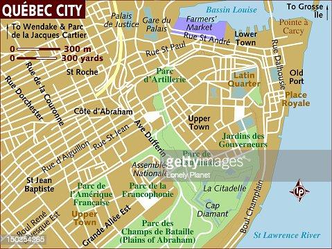 Quebec City Map My Blog - Map of quebec