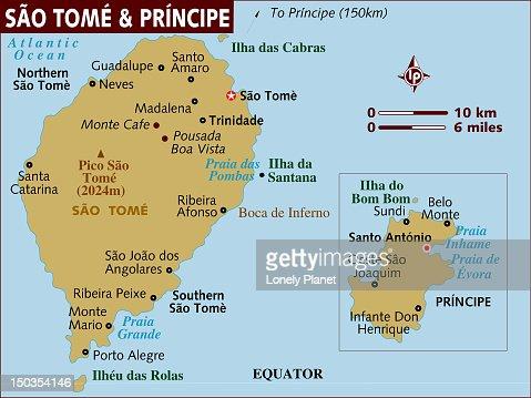 Sao Tome And Principe Map My Blog - Sao tome and principe map