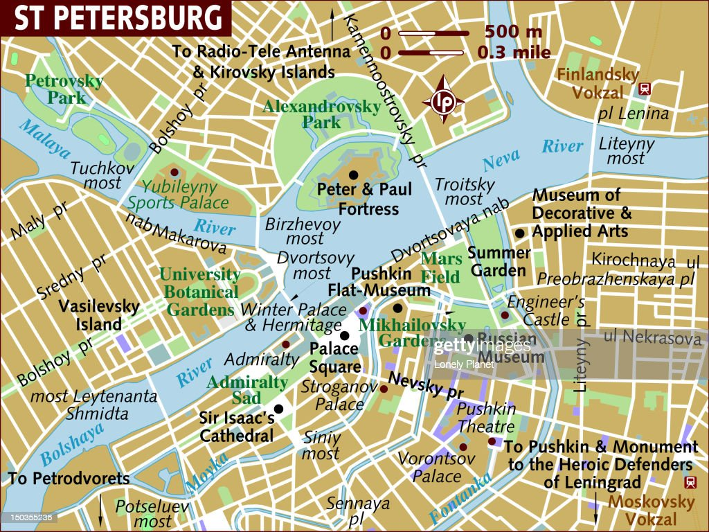 map of moscow stock illustration getty images
