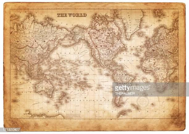 Mapa del mundo 1882