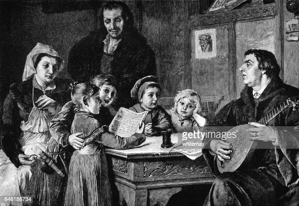 Martin Luther and his children