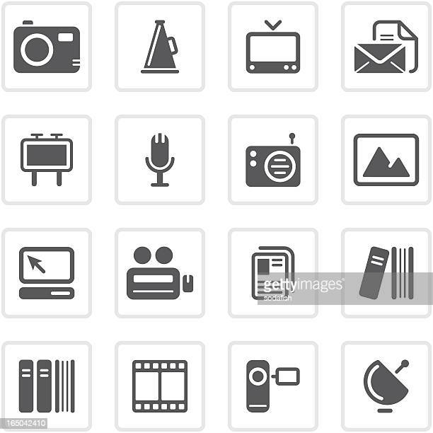 Media & Publishing icons | prime series