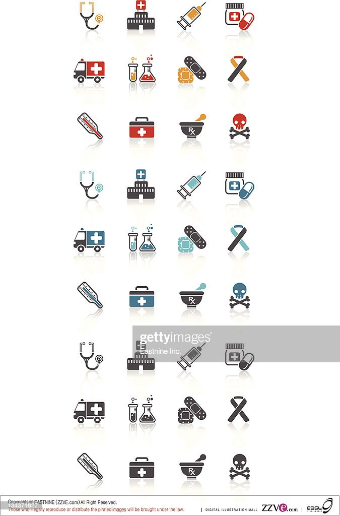 Medical and medicine : Vector Art