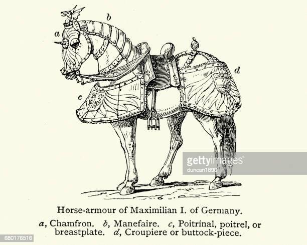 Medieval horse armour of Maximilian I