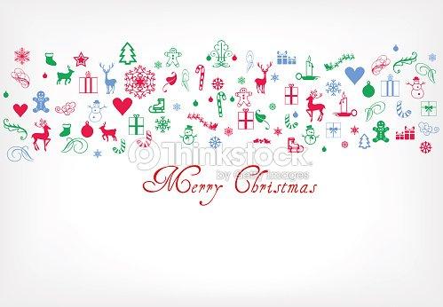 Decorazioni Di Natale Disegni.Buon Natale Auguri Con Decorazione Di Natale Disegnotex