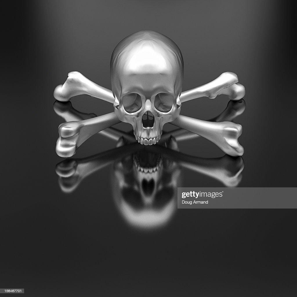 Bad-ass Metal Skulls