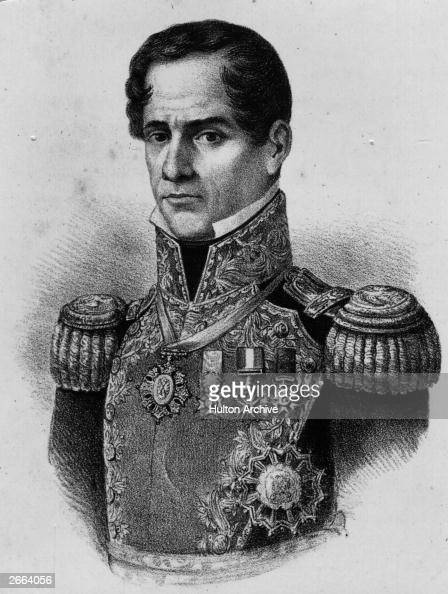 general antonio lópez de santa anna Antonio l pez de santa anna (1794-1876) the dominant figure in mexican politics for much of the 19th century, antonio l pez de santa anna left a legacy of disappointment and disaster by consistently placing his own self-interest above his duty to the nation.