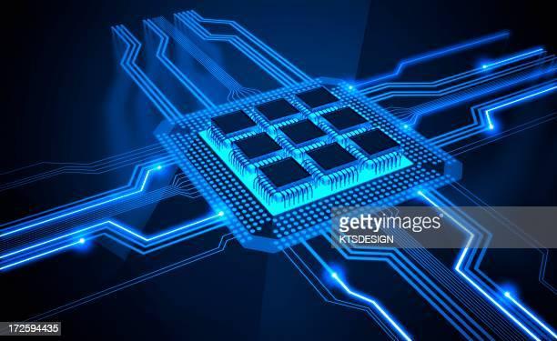 Microchip, artwork