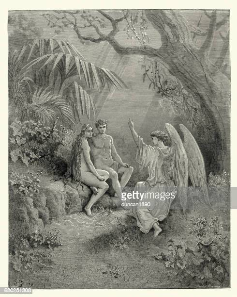"""adam in miltons paradise lost essay Milton's eve in paradise lost is apparently the weakness of adam and the  tragedy of eden she was a mere reflection of him """"whose image thou art (milton,  book."""