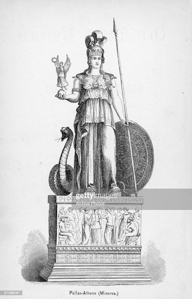300 BC Minerva daughter of Jupiter the Roman goddess of wisdom medicine arts and war Her temple was on the Capitoline Hill Rome and along with...