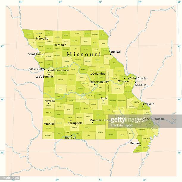 Missouri River Stock Illustrations And Cartoons Getty Images - Missouri river map