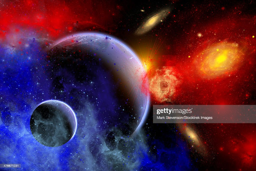planets and galaxies and nebulas - photo #7