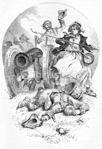 molly pitcher at monmouth stock illustration thinkstock