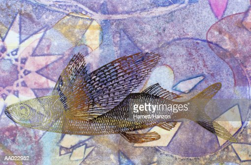 Flying fish stock illustrations and cartoons getty images for Fish and wings