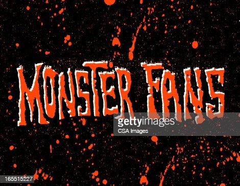 Monster Fans : Stock Illustration