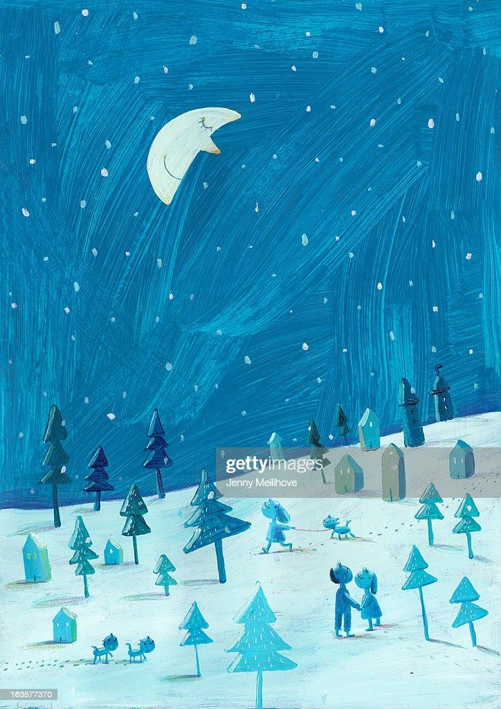 Moon : Ilustración de stock