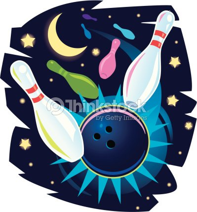moonlight bowling color - Bowling Pictures To Color