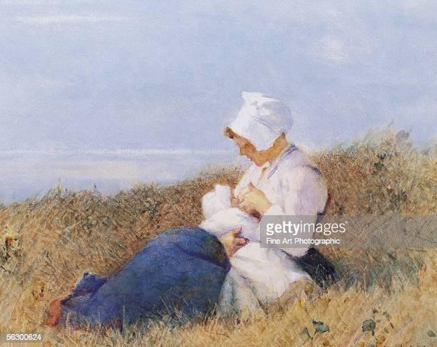 Motherhood Artist b 1847 d 1932