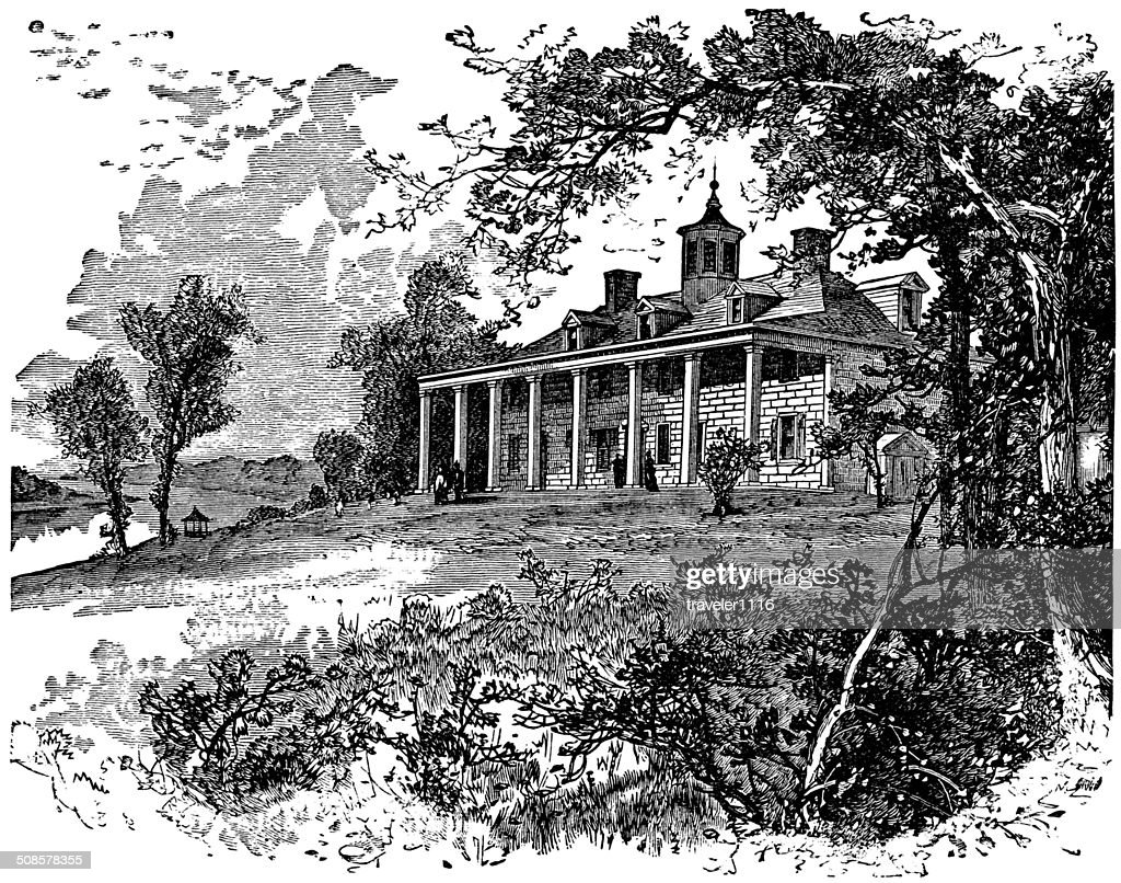 Mount Vernon : Stock-Illustration