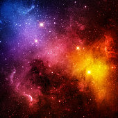 Galaxy. Elements of this image furnished by NASA