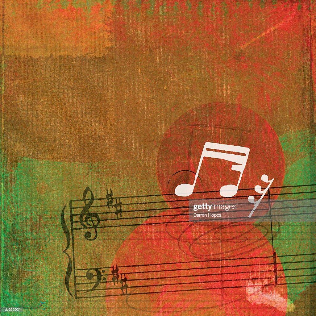 Music Motif : Stock Illustration